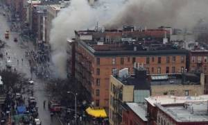 ΗΠΑ: 2 αγνοούμενοι και 25 τραυματίες μετά την κατάρρευση κτηρίων στη Νέα Υόρκη