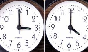 Αλλαγή ώρας: Την Κυριακή πάμε τα ρολόγια μία ώρα μπροστά