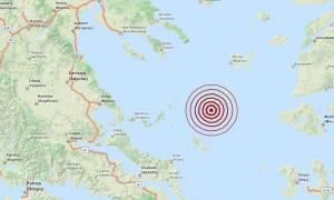 Σεισμός 3,2 Ρίχτερ στο βόρειο Αιγαίο