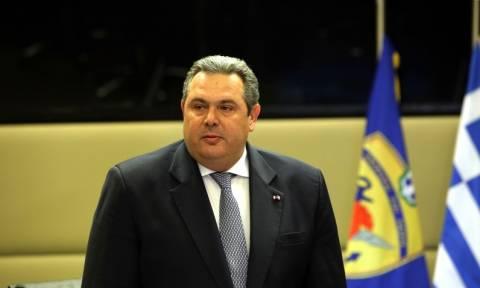 Π. Καμμένος: Πλήρης συντονισμός των κυβερνήσεων Ελλάδας - Κύπρου