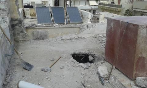 Κρήτη: «Εργοδοτικό έγκλημα» λένε οι οικοδόμοι για το δυστύχημα (photos)