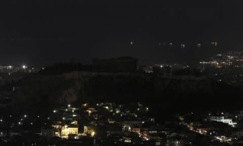 Η Αθήνα συμμετείχε στην «Ώρα της Γης» (video)