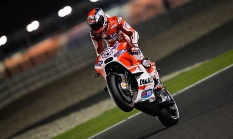 MotoGP Κατάρ: Εκκίνηση με Dovizioso στην pole