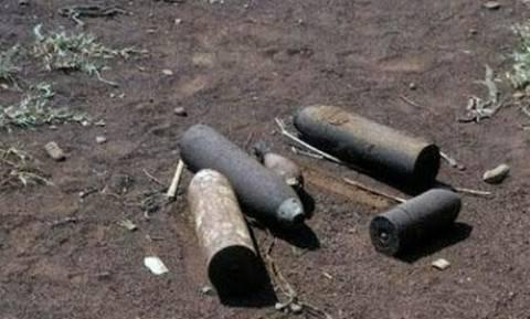 Θεσπρωτία: Εντοπίστηκαν οβίδες του Β΄ Παγκοσμίου Πολέμου στην Πόβλα