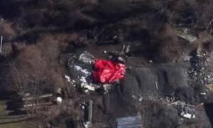 ΗΠΑ: Συντριβή μικρού αεροσκάφους – Δύο νεκροί (video)