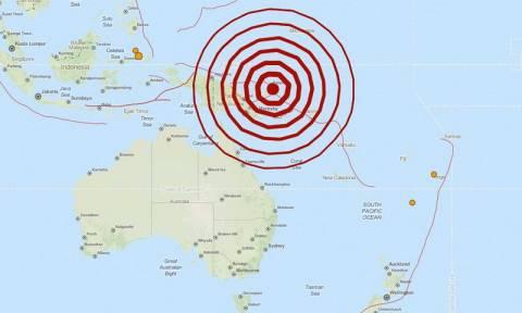 Ισχυρός σεισμός 7,7 Ρίχτερ στην Παπούα – Νέα Γουινέα
