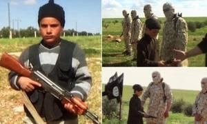 Νέα φρίκη του Ισλαμικού Κράτους: Παιδιά βοηθούν στην εκτέλεση 8 ομήρων (photos)
