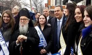 Ο Π. Καμμένος στον εορτασμό της 25ης Μαρτίου στη Νέα Υόρκη