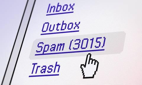 Tα οικονομικά δεδομένα πρωταρχικός στόχος των επιθέσεων spam