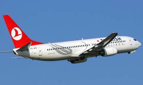Συναγερμός σε πτήση της Turkish Airlines: Άλλαξε πορεία έπειτα από απειλή για βόμβα
