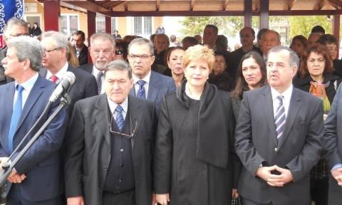 Μαρία Κόλλια-Τσαρουχά: Στις εκδηλώσεις μνήμης για την Γενοκτονία Θρακιωτών
