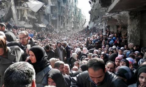 ΟΗΕ: Ποσό ρεκόρ για την αντιμετώπιση της ανθρωπιστικής καταστροφής στη Συρία