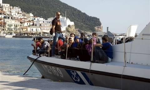 Εντοπισμός και συλλήψεις παράνομα εισελθόντων αλλοδαπών σε Μυτιλήνη, Σάμο και Χίο