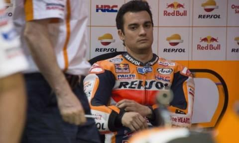 MotoGP Κατάρ: Δεν συνεχίζει ο Pedrosa