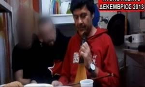 Βίντεο - ντοκουμέντο: Ο Ξηρός γλεντάει με μέλη των «Πυρήνων» στις φυλακές