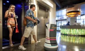 Ρομπότ - μπάτλερ στην υπηρεσία του ταξιδιώτη