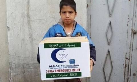 Οικονομική βοήθεια στη Συρία για την αντιμετώπιση της ανθρωπιστικής κρίσης