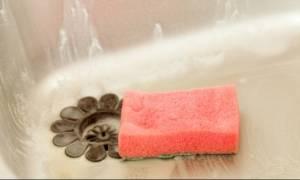 Το απόλυτο τρικ για να εξοντώσετε τα μικρόβια από το σφουγγάρι των πιάτων!