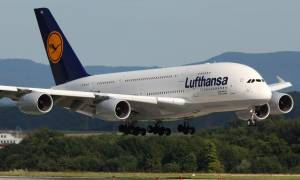 Lufthansa: Aκυρώνονται οι εορτασμοί για τα 60ά γενέθλια της εταιρείας