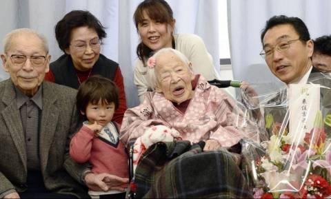 Πέθανε η γηραιότερη γυναίκα του πλανήτη