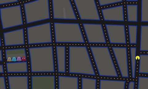 Παίξε Pacman στο δρόμο σου με google maps