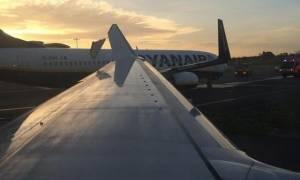 Σύγκρουση δύο αεροπλάνων στο αεροδρόμιο του Δουβλίνου (photos)