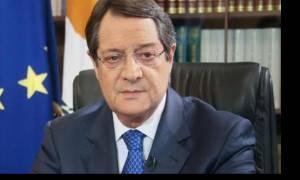Αναστασιάδης: Θετικό βήμα η αποχώρηση του Μπαρμπαρός