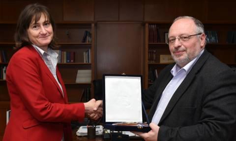 Ήσυχος: Συνάντηση με την Πρέσβη της Βουλγαρίας