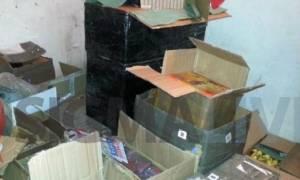Χιλιάδες κροτίδες εντόπισε η Αστυνομία στη Λεμεσό