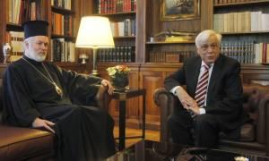 Συνάντηση Προέδρου της Δημοκρατίας με Μητροπολίτη Βελγίου