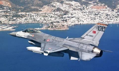 Είκοσι τέσσερις παραβιάσεις τουρκικών αεροσκαφών σε ένα 24ωρο