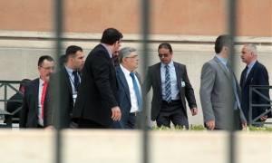 Συγκέντρωση έξω από τον Κορυδαλλό για τη δίκη της Χρυσής Αυγής