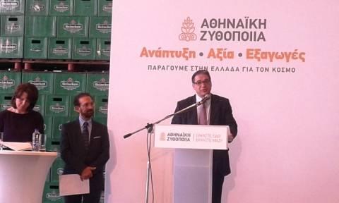 Στο εργοστάσιο της Αθηναϊκής Ζυθοποιίας στην Πάτρα θα παράγεται η Heineken