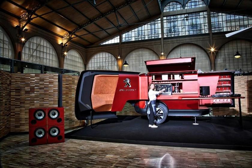 Peugeot Foodtruck: Tο λιοντάρι λανσάρει ένα Bistrot