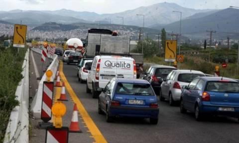 Κυκλοφοριακές ρυθμίσεις στην Αθηνών - Λαμίας στον Ωρωπό