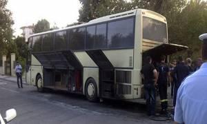 Βόλος: Σύγκρουση λεωφορείου ΚΤΕΛ με Ι.Χ.