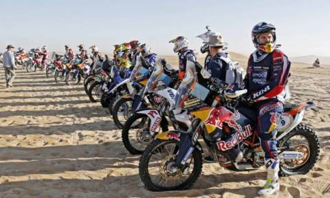 Cross Country Rallies: Ο Coma νικητής στο Abu Dhabi Desert Challenge (photos)