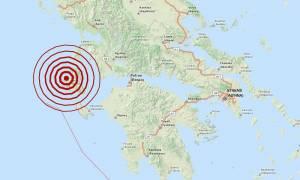Σεισμός 4,5 Ρίχτερ στην Κεφαλονιά (pic)