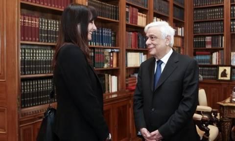 Στο Προεδρικό η Έλενα Κουντουρά