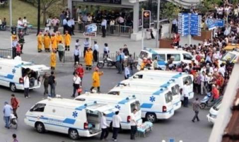 Κίνα: 21 χαμένες ζωές από πτώση λεωφορείου σε ποταμό