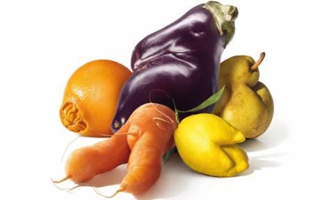 Αισθητικές ατέλειες στέλνουν τόνους τροφίμων στις χωματερές
