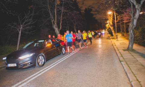 Ford: Mondeo Light Running Event (photos)