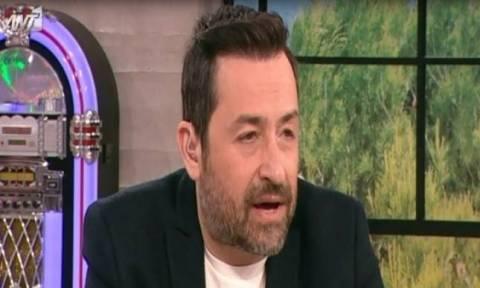 Η συγκίνηση του Γεωργαντά on air για την απώλεια του πατέρα του