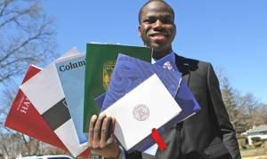Έγινε δεκτός και στα 8 κορυφαία αμερικανικά πανεπιστήμια