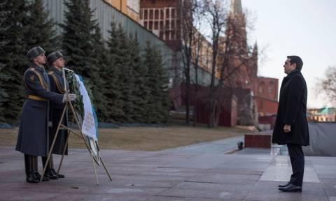 Οι ευχαριστίες του φρούραρχου της Μόσχας στον Αλέξη Τσίπρα