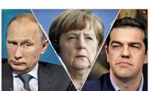 Bild: Τσίπρας και Πούτιν κατά της Άνγκελα Μέρκελ;