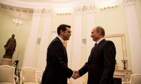 Η συνάντηση Τσίπρα - Πούτιν σε φωτογραφίες