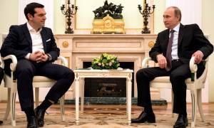 Δείτε LIVE τη συνέντευξη Τύπου Τσίπρα - Πούτιν