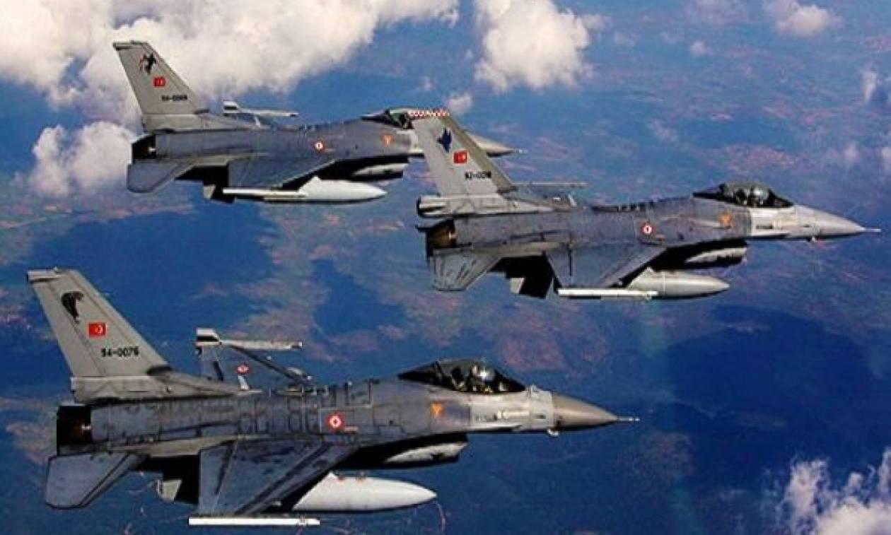 Νέες υπερπτήσεις από τουρκικά μαχητικά στο FIR Αθηνών