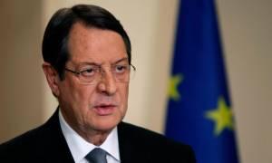 Αναστασιάδης: Στην Αθήνα ο συντονισμός για την παραπέρα πορεία στο Κυπριακό